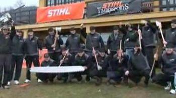 Concurentiide laCluj pentru campionatul mondial de taiat lemne vor sa fie lideri ca CFR-ul!