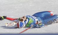 Lindsey Vonn, campioana olimpica la coborare