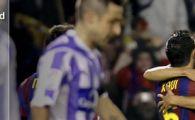 Barcelona, pe jumatate campioana! Vezi golurile de playstation ale lui Xavi si Alves!