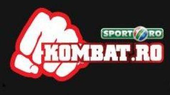 Bataia-i rupta din net! www.sport.ro lanseaza primul site cu  propria gala de lupte:Kombat.ro