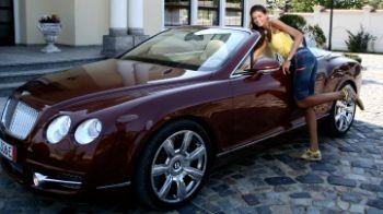 Monica Columbeanu la ProMotor cu o decapotabila de 250.000 de euro, sambata 12:00, ProTV