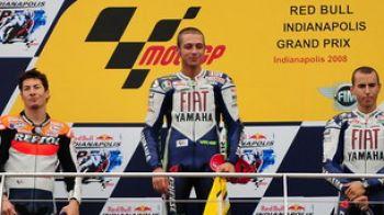 Record si victorie pentru Rossi la Indianapolis