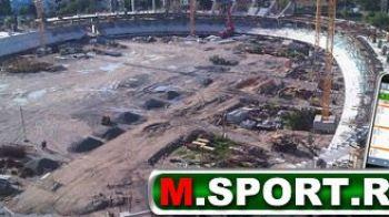 """Noul stadion din Cluj BATE national Arena din Bucuresti? """"E 40% gata!"""" Vezi cum arata acum!"""