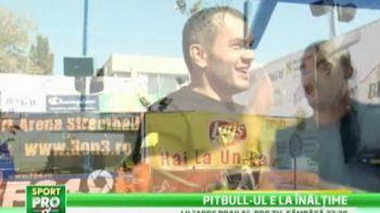 NBA in loc de Local Kombat! Pitbull-ul e ATLETUL UNIVERSAL! Cum i-a umilit pe colegii din LK la baschet: