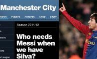Messi, who? City l-a lasat pe Balotelli sa scrie pe site-ul oficial al clubului :) Atac fara precedent din partea englezilor: