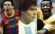 Messi a egalat un RECORD la care Pele si Maradona doar au visat! Ce trebuie sa mai castige pentru a deveni cel mai tare jucator din istorie: