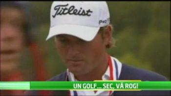 Au si ei betivii lor! Americanii au trait cel mai comic moment din sport din 2012! Un betiv a stricat momentul castigatorului de la Open-ul Americii de golf! VIDEO