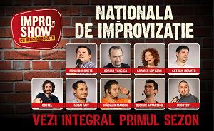 """Nationala de comedie este acum pe Voyo.ro. Vezi aici primul sezon """"IMPROvSHOW cu Mihai Bobonete"""""""