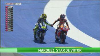 Se naste o noua legenda in mondialul de motociclism! La 20 de ani, spaniolul Marc Marquez a devenit cel mai tanar castigator in MotoGP!