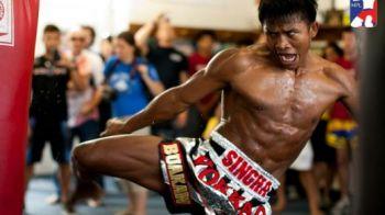 Luptatorul cu cele mai VIOLENTE lovituri de picior a revenit cu un KO de senzatie! Adversarul s-a incolacit de durere dupa croseul asta! VIDEO