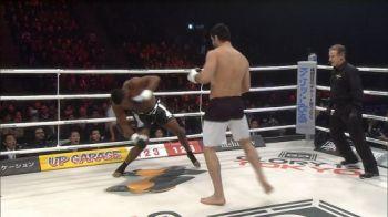 YES, GHITA! Cel mai frumos KO din cariera lui Daniel Ghita! Si-a trimis adversarul la somn cu o lovitura senzationala: VIDEO