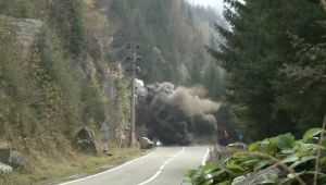 "Imagini incredibile surprinse astazi pe Transfagarasan. ""E o explozie!"""