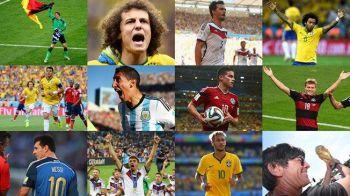 FIFA a anuntat echipa IDEALA a turneului final din Brazilia! Paradox MONDIAL: 3 brazilieni in aparare, Germania are 4 jucatori