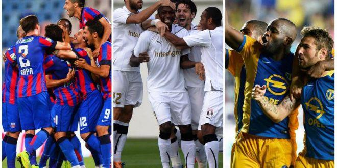 Nebunie in Liga 1. Steaua, Petrolul si Astra se intrec in transferuri de rasunet. Cum vor arata granzii dupa ultimele mutari