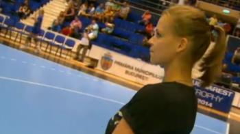 Ea e cea mai frumoasa sportiva din Romania! Cum arata femeia care le va lua mintile fanilor la toate meciurile