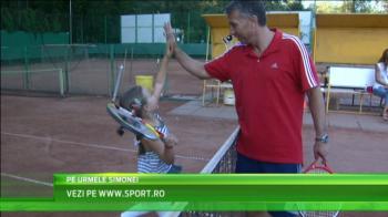 """VIDEO Simona Halep l-a inspirat pe Dan Petrescu sa isi duca fiica la tenis: """"La ce mai suntem noi numarul 2 in lume?"""""""