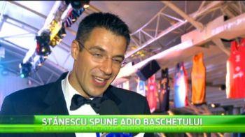 S-a retras primul presedinte-jucator din baschetul romanesc. Virgil Stanescu a dat petrecerea de adio! VIDEO