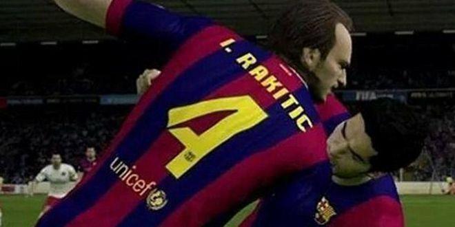 Mai real ca niciodata! Suarez MUSCA si in FIFA 15! Imaginile care fac din noul joc atractia momentului pentru orice suporter