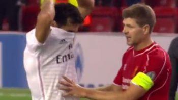 Un jucator de la Real i-a cerut tricoul dupa meci, Gerrard a avut o reactie SENZATIONALA! Ce gest a facut