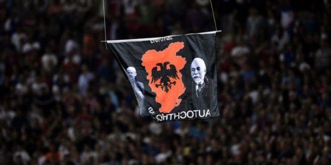 OFICIAL: UEFA a luat o decizie istorica dupa  cazul drona ! Cum a pedepsit Serbia si Albania dupa meciul suspendat!