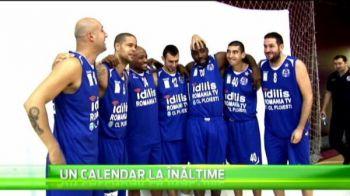 Baschetbalistii de la Ploiesti si-au umflat muschii intr-o sedinta foto pentru calendarul pe 2015! VIDEO