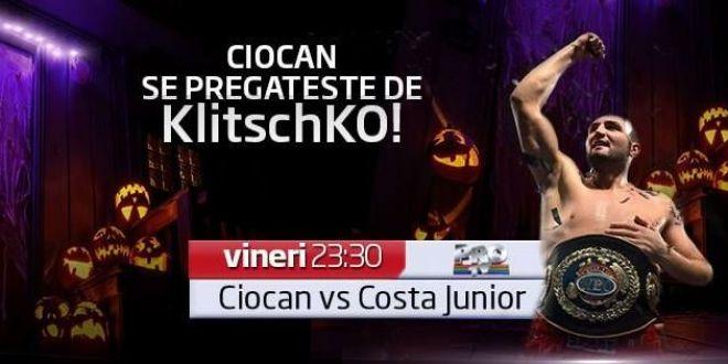 Cristian Ciocan este la o victorie de un meci cu marele Klitschko! Meciul este in direct pe ProTV vineri, de la 23:30