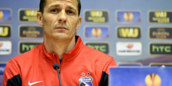 Galca se gandeste deja la meciul cu Aalborg, Steaua are o saptamana de foc:  Baietii nu au fost proaspeti, trebuie sa ne revenim