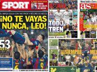 "VIDEO Reactia emotionanta a lui Messi dupa ce a batut recordul de goluri in Spania! Sport Catalunya: ""Sa nu pleci niciodata, Leo!"""