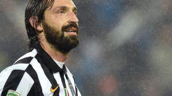 Forma e temporara, clasa e permanenta! Pirlo, FABULOS! A inscris golul victoriei in derby-ul din Torino la ultima faza!