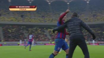 Bourceanu a izbucnit dupa schimbare si s-a luat la injuraturi cu suporterii! VIDEO | Reactia nervoasa a mijlocasului