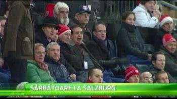Golul lui Florescu i-a facut fericiti pe romanii de la Targul de Craciun! :) Super imagini de la Salzburg