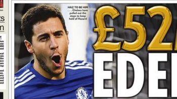 """""""Proiectul EDEN"""" cu care Chelsea l-a transformat pe Hazard in cel mai bine platit fotbalist din club. Ce salariu urias va incasa"""