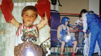 Destinul unui campion de box! Fiul marelui boxer Gheorghe Paraschiv se bate pentru titlul mondial Superkombat, sambata la Sport.ro
