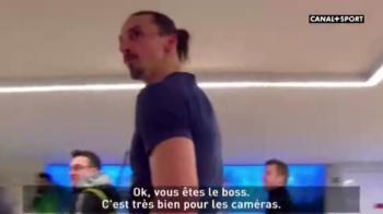 VIDEO Zlatan a cerut mingea, arbitrul a REFUZAT sa i-o dea! Reactia de MILIOANE a suedezului dupa ce marcase un hattrick