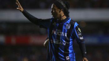 VIDEO | Ronaldinho, din nou erou in Mexic! La 35 de ani, brazilianul continua sa ridice publicul in picioare!