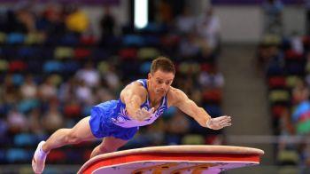 A PATRA medalie pentru Romania! Marius Berbecar aduce bronzul pentru gimnastica masculina la Baku!