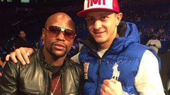 Romanul din echipa lui Mayweather face senzatie in Las Vegas: Gavril a batut un american si se gandeste la centura mondiala