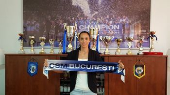 Inca un transfer de Liga la CSM | Campioana Romaniei a pus mana si pe capitanul echipei nationale: Mica Bradeanu a semnat pe doi ani