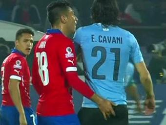 Suspendarea lui Jara, redusa de sudamericani! Chilianul tot nu va putea evolua insa in finala Copei America, dupa gestul incredibil la adresa lui Cavani