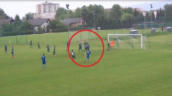 A dat Dinamo pe un club din Slovenia, iar acum e vedeta pe internet cu un supergol! Reusita de senzatie a unui pusti roman: VIDEO