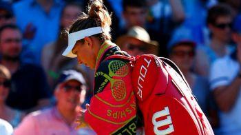"""""""CE SOC!"""" Ce scrie WTA dupa eliminarea fulger a Simonei Halep de la Wimbledon"""