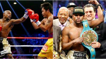 """Soc in boxul mondial   Mayweather ramane fara centura cucerita in """"Meciul Secolelor"""" cu Manny Pacquiao! Ce greseala a facut"""