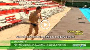 Isi baga adversarii la apa | Romanul care a renuntat la polo dupa 10 ani ca sa intre in ringul de kickboxing! VIDEO