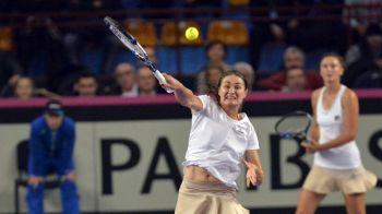 Begu si Niculescu au pierdut finala de la Wuhan in fata Martinei Hingis si Saniei Mirza! Cu cati bani pleaca din turneu
