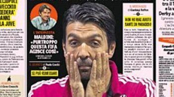 Italia se REVOLTA dupa ce Buffon a fost exclus de pe lista pentru Balonul de Aur! Scrisoarea legendei lui Juventus
