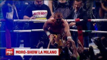 'Va iubeeeesc!' Momente URIASE pentru Morosanu la Milano! Ce s-a intamplat dupa victoria cu URIASUL Czerwinski