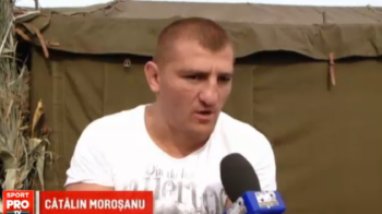 Morosanu petrece dupa victoria de la Milano! Regele Junglei a golit carafele la festivalul vinului din Moldova VIDEO