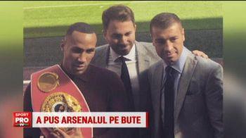 Bute, pe stadionul lui Arsenal! Romanul a promovat meciul din noiembrie pe arena preferata a adversarului sau! VIDEO