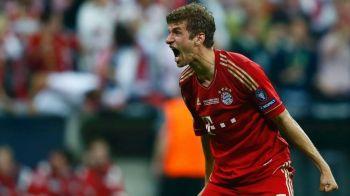 Inca un record pentru Bayern in Champions League! Muller este cel mai tanar jucator care a reusit asta