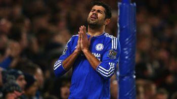 """Varianta """"soc"""" pentru Diego Costa. Atacantul are un sezon slab la Chelsea, iar scandalurile provocate ii pot fi fatale. Ce echipa il oferteaza"""